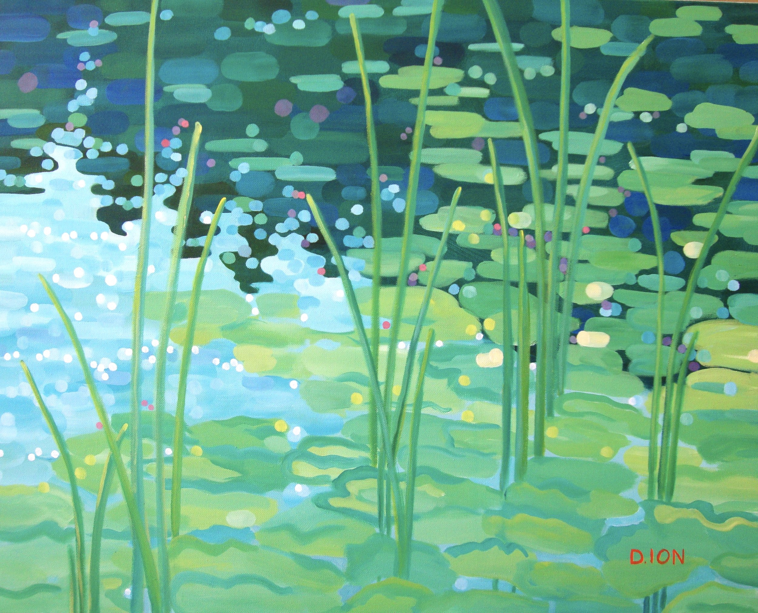 Lily Pads 24x30 in.
