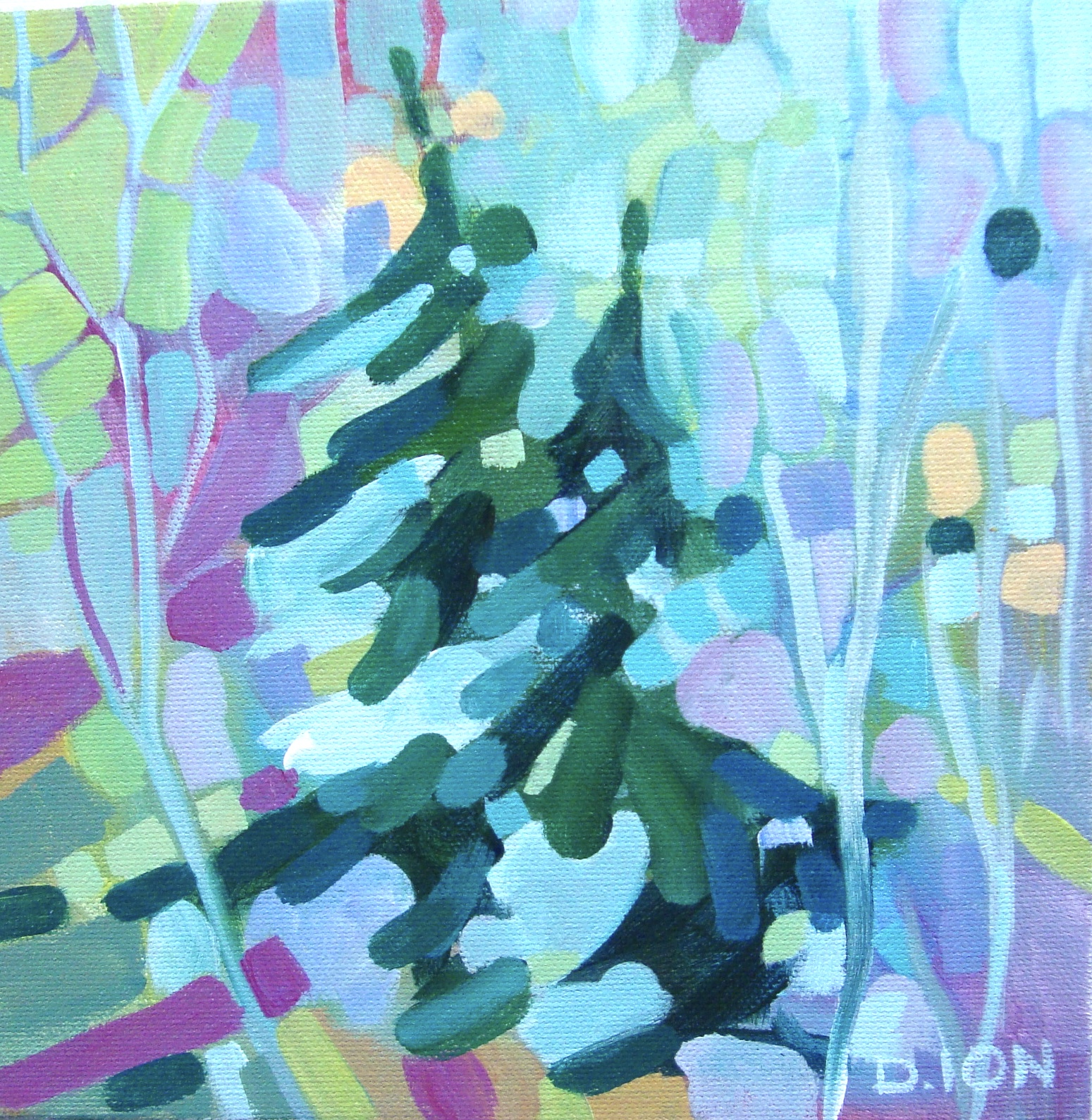 Forest Series 11 8x8 in.