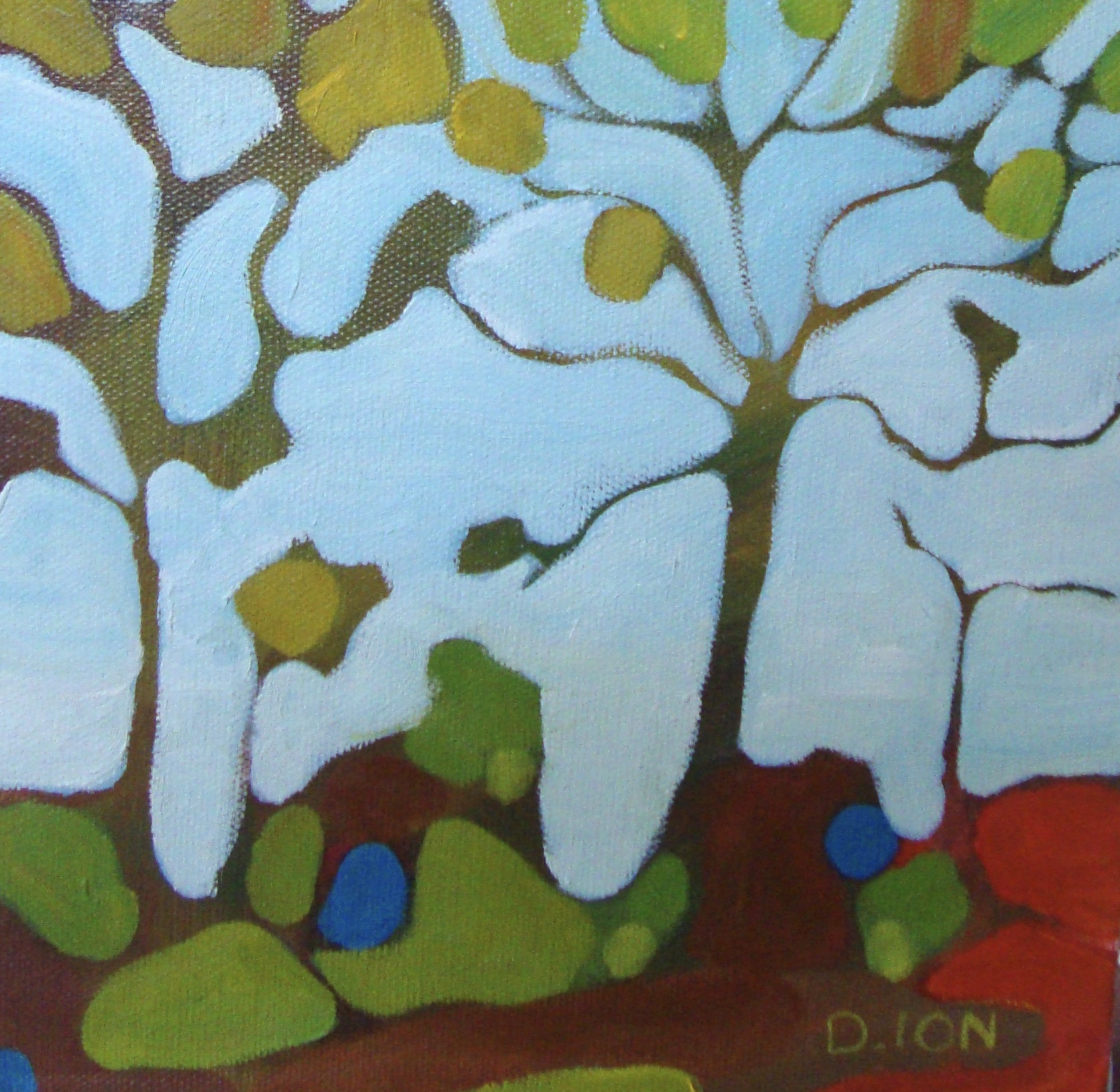 Woodland Series #3 8x8 in.