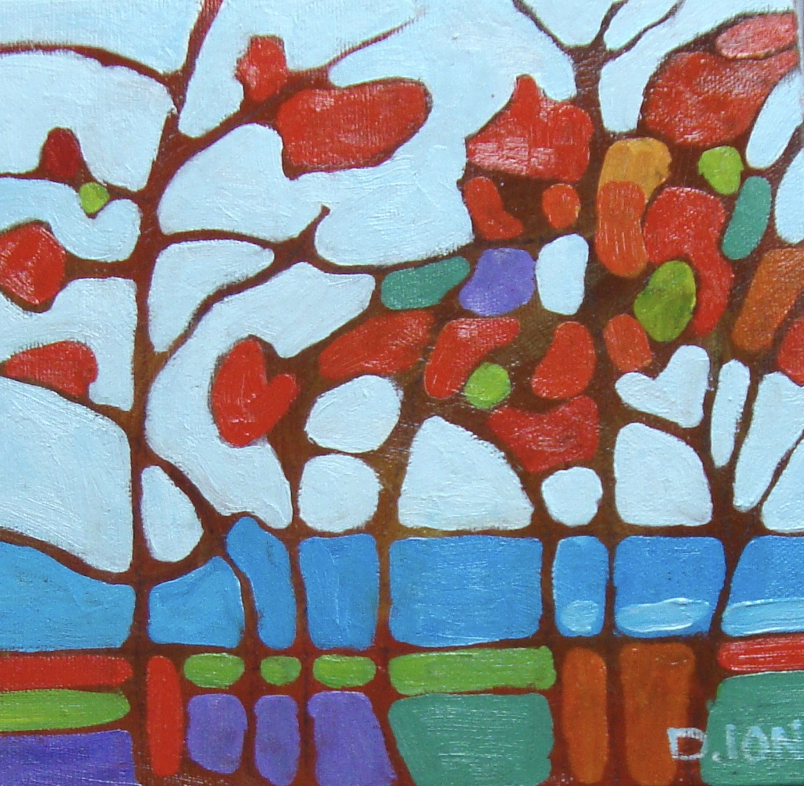 Trees 1 8x8 in.