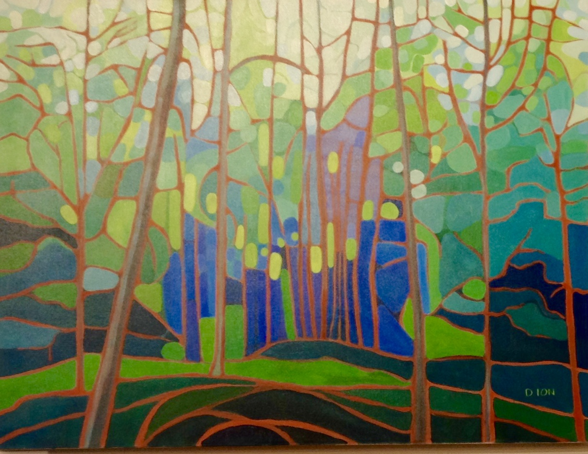 Emily's Forest 2 30x40 in.