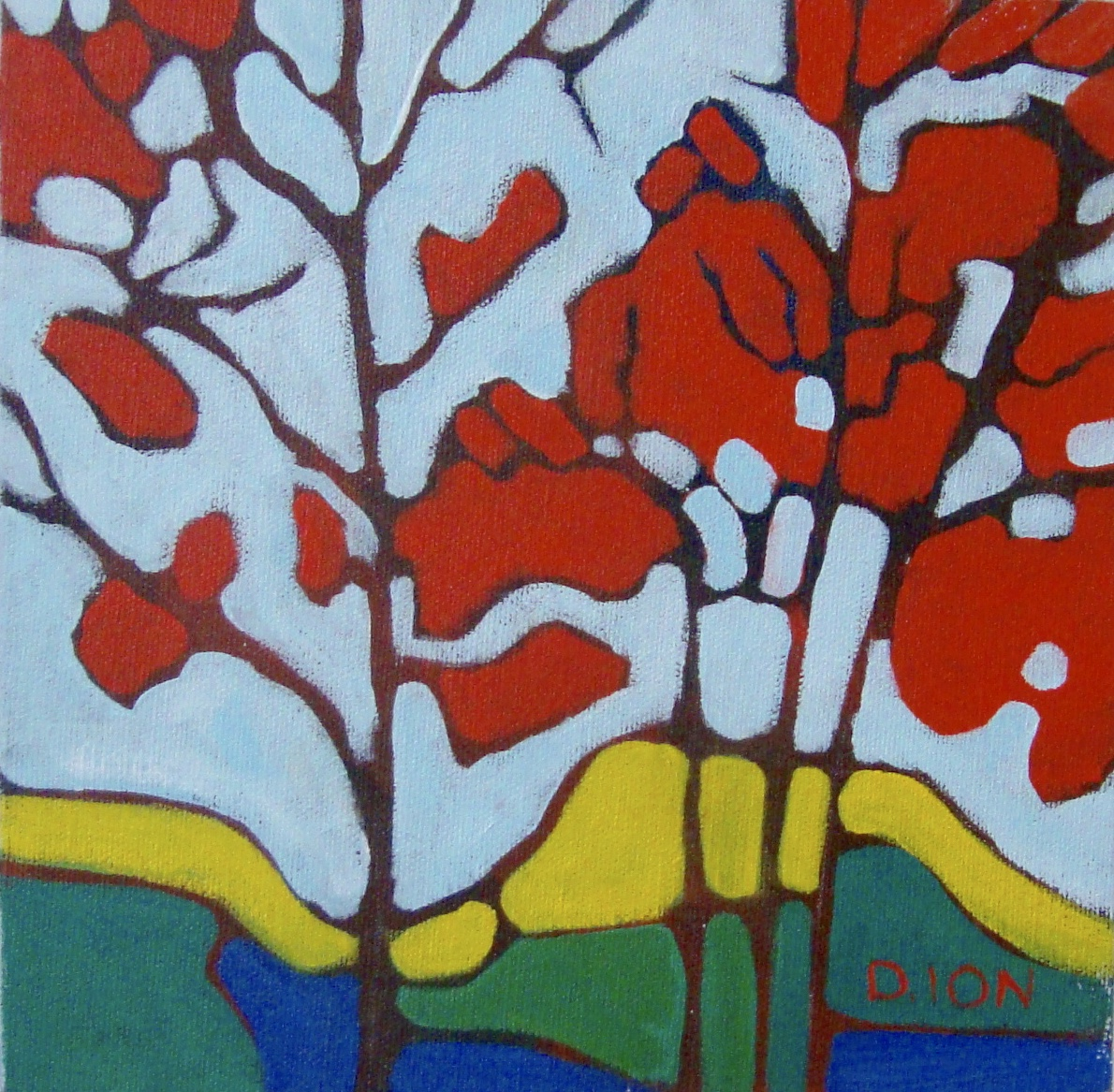 Trees 10 8x8 in.