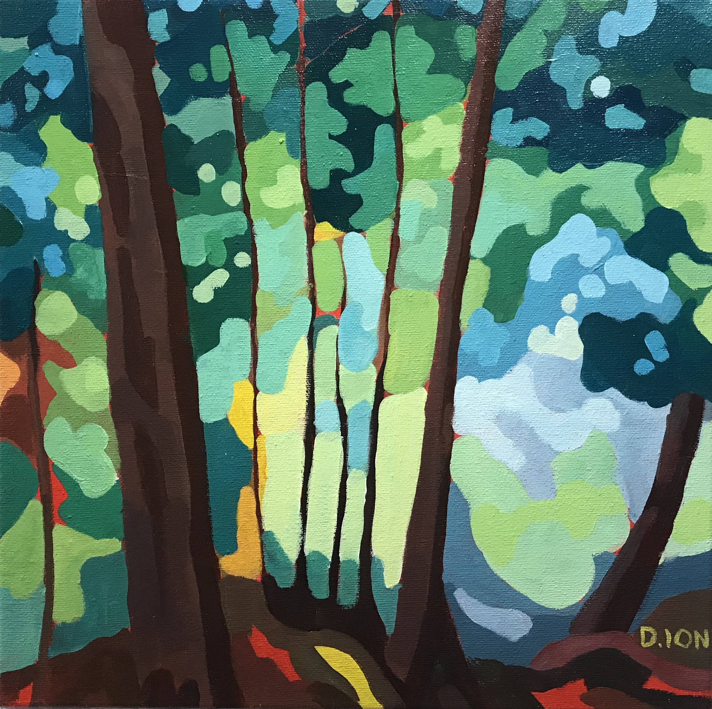 Deep in the Forest 12x12F