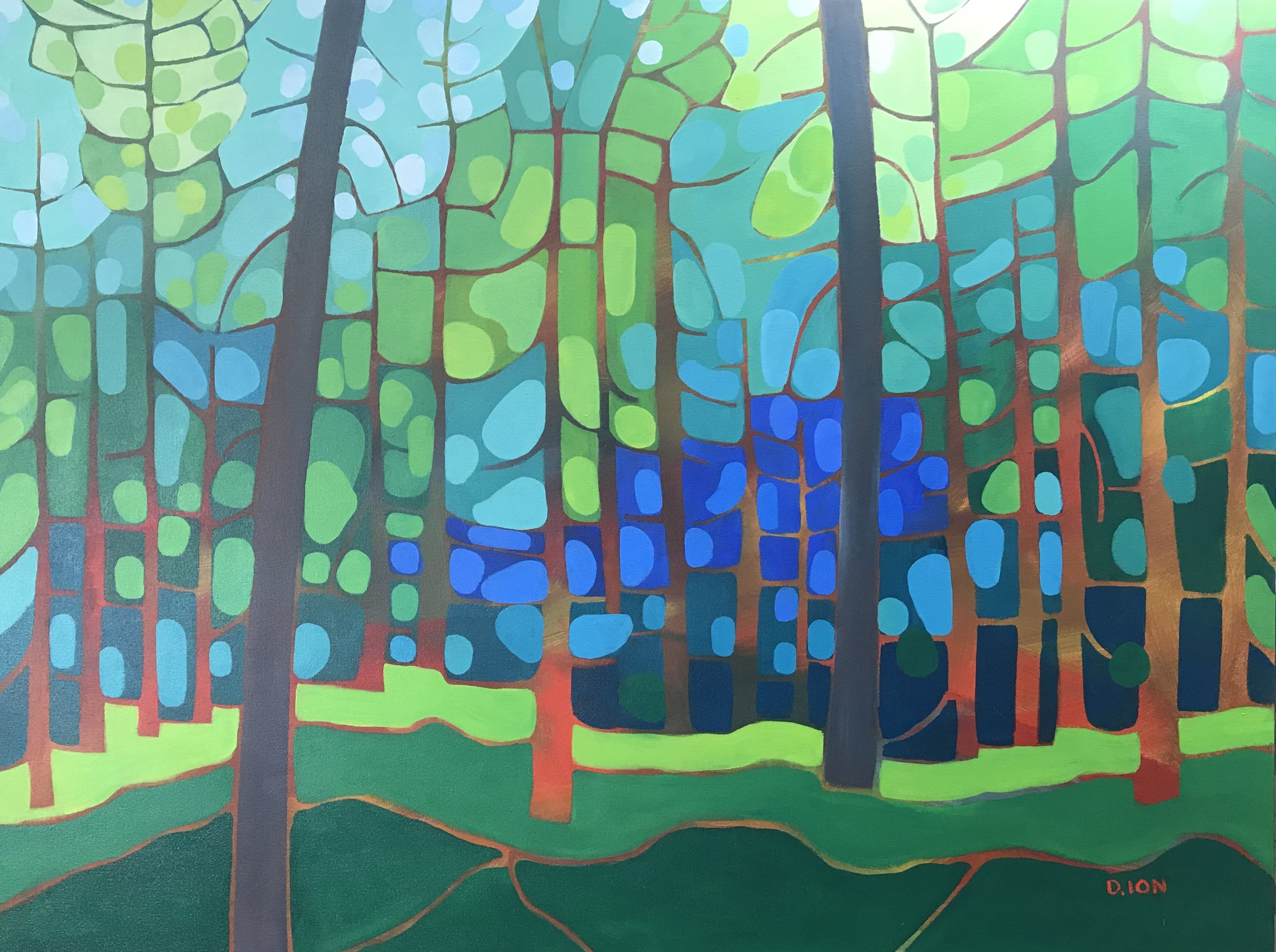 Forest Patterns 30x40