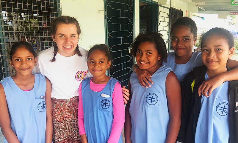 Friends like you have help passionate Year 13 students travel to Fiji to share the gospel, to grow, and be challenged in their faith.