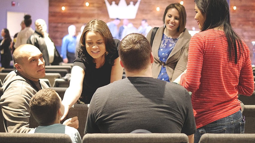 having kids and adults together,physically communicates that we are all part of the church and when we do church, we do it together