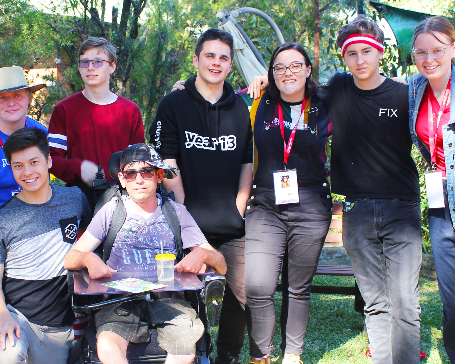 Thanks to your support, young people with physical and intellectual disabilities are enjoying gospel community