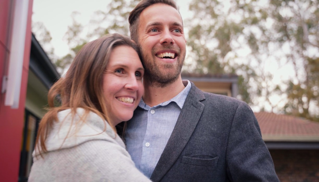You're orienting young people for life in Christ by equipping leaders like Rev Mike Begbie and his wife, Amelia.