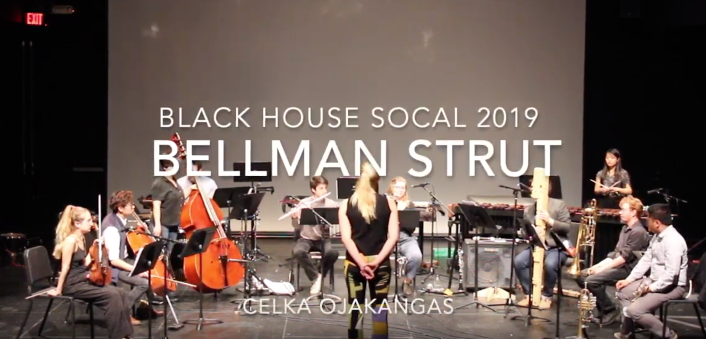 """Bellman Strut"" for the Black House Collective - 2019"