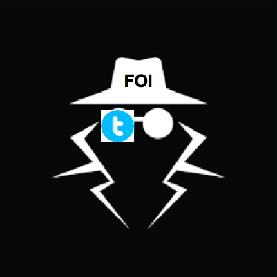 ICO Guidance for answering FOI requests via Twitter. - Click here for : How to respond to FOI with Twitter