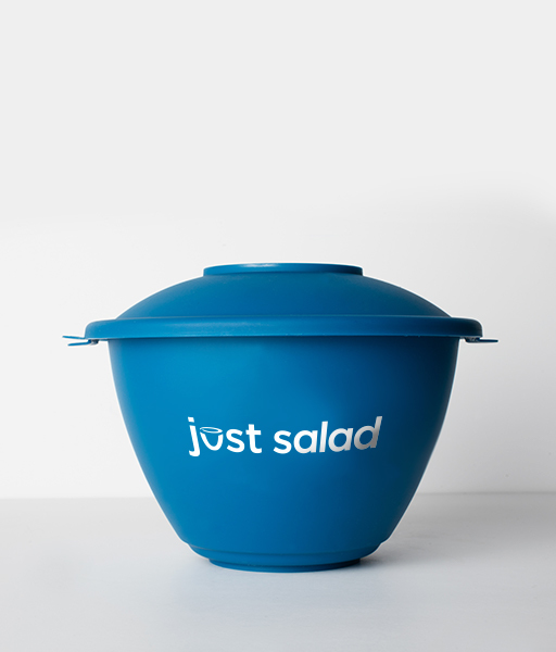 Just salad, USA - Just Salad, a restaurant chain headquartered in New York, received recognition from the Environmental Protection Agency as a regional Waste Wise Award winner.Customers can purchase a signature blue, BPA-free reusable bowl for $1 at any of Just Salad's 34 locations around the world. Every time a customer brings the reusable bowl into the store, he or she receives two free essential toppings or one free premium cheese topping.Just Salad also offers a VIP program—the limited-edition black reusable bowl allows customers to skip the line any time in addition to earning free toppings.https://www.justsalad.com/