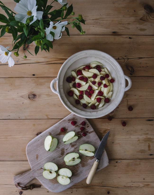 Buckwheat crumble recipe