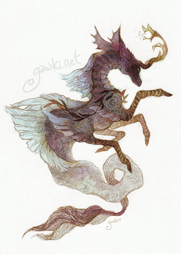 Hippocampus (in color)