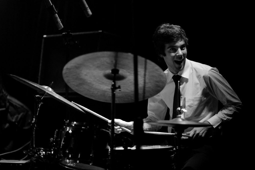 GAUTIER GARRIGUE - Gautier is one of the best drummers of the new French generation. Born in Perpignan he has been living in Paris since 2007. He has already played with some of the finest musicians on the international jazz scene and performed worldwide.