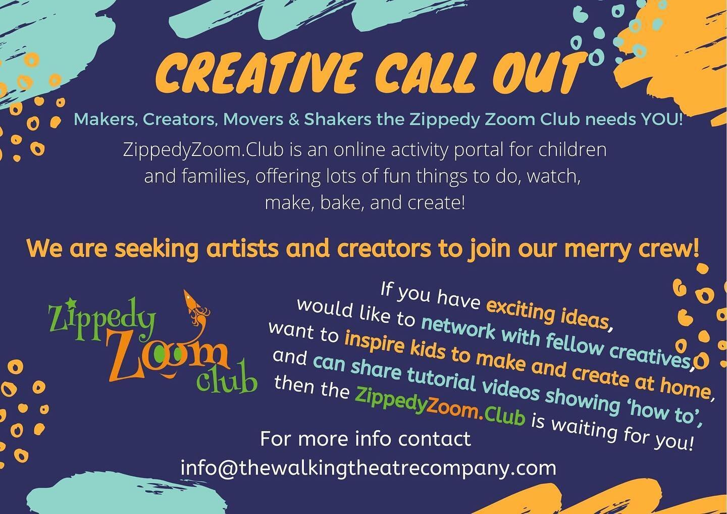 Join the fun of the ZippedyZoom.Club by becoming a maker or creator!