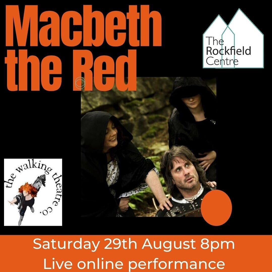 ✨ MACBETH THE RED - LIVE ONLINE THEATRE PERFORMANCE ✨  Join TWTC and @trc_oban as we bring you #Shakespeare's quintessential Scottish play, in the comfort of your own home!   Booking advisable - link in bio!   #theatre #onlinetheatre #oban #argyll #whatson #booknow #theatrekid #theatrelife #macbeth