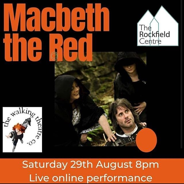 TONIGHT! LIVE ONLINE THEATRE!!   TWTC and @trc_oban have joined forces to bring you MACBETH THE RED tonight 8pm via Zoom!   ✨ BOOKING ESSENTIAL! Link in Bio!!! ✨