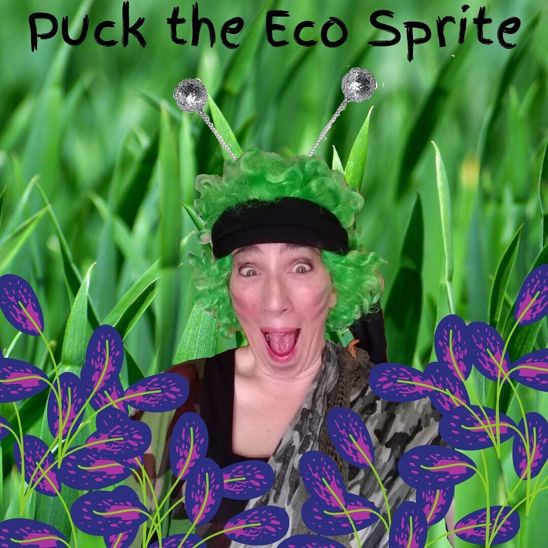 Hello, friends! It's Puck the Eco Sprite here! ✨ I've been having fun over at the ZippedyZoom.Club, sharing lots of #funfacts about #trees! 🌲 Why not #zoom on over and join me?! 👋 Link in bio! 😃 #ecofriendly #kids #kidsofinstagram #kidscreate #theatre #theater #theatrelife #theatreonline #lockdown #creative