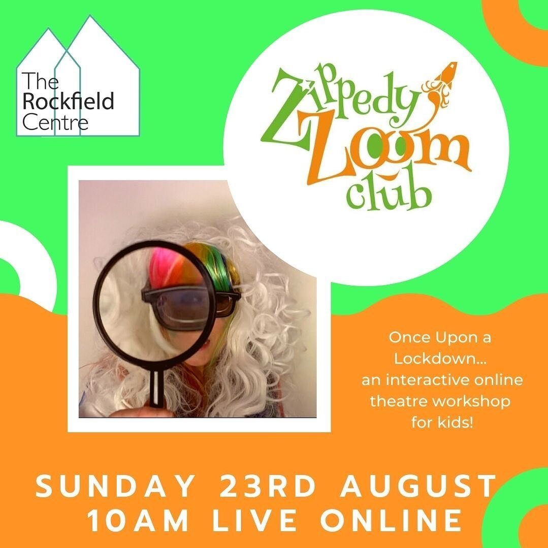 🎭 Online, Interactive Theatre Workshop with The Walking Theatre Company and @trc_oban 10am tomorrow, SUNDAY 23rd AUGUST 2020 🌟 Book Now! 🎉 Link in bio! ✨ . . . #theatre #workshop #childrenstheatre #online #onlineworkshop #creative #forkids #kidsofinstgram