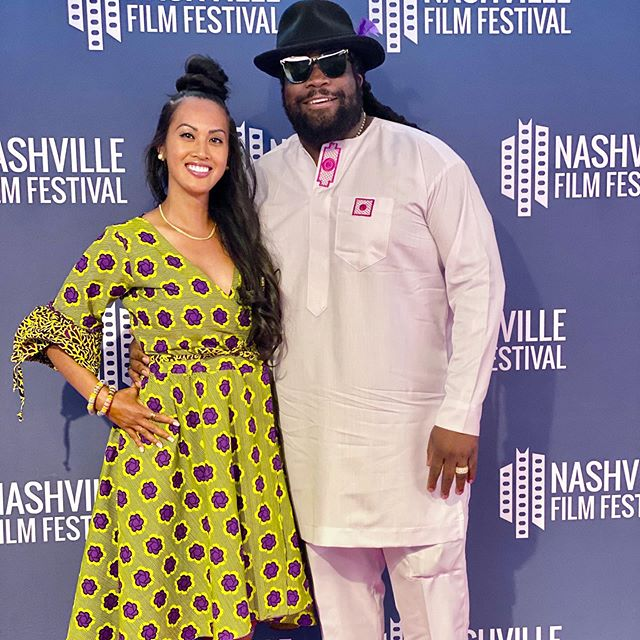 Film festival in our city? Yes please! 🎥 Here to support @studio17movie and warm up for our own documentary coming soon...💚 #forbesbooks #cannabis #nashville #films #nashvillefilmfestival #studio17 #losttapes #reggae #music #cbd #ourstory #love #masayameanshappy #powercouple #humble #visions #gamechanging #mission #morganheritage #forbes