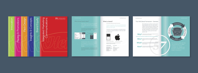 The Heinz Marketing Academy Handbook, Heinz's extensive brand marketing 'bible'.