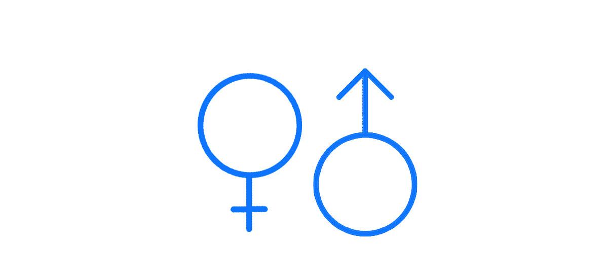 Demographic data - Male/female gender split