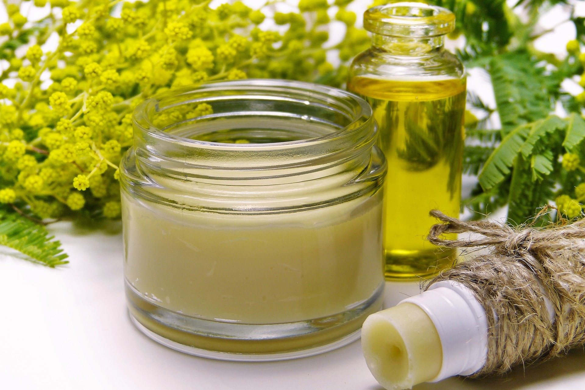Beauty products made from acacia extracts.