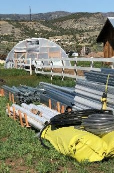Some of our greenhouse materials