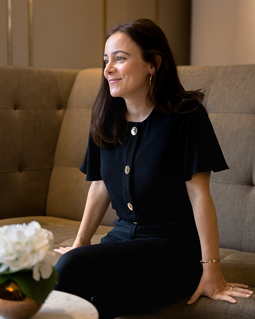 Nadine Barkho - Nadine started her interiors career over a decade ago at Savills in the Interior Services department, managing and implementing market-driven interiors for clients who owned properties in Prime Central London. With a strong aim at maximising the return on investment for her clients, Nadine was able to grow the department into a thriving business, and after six years at Savills, she co-founded Nest Designers. Here, she was able to expand on the investment side of interiors for large property funds and agents, whilst offering more personal interior services for clients who wanted to carry out works to their own homes, from interior design to large scale refurbishments. Nadine carries this immense knowledge and experience of residential interiors and the London property market with her to N + B Design.