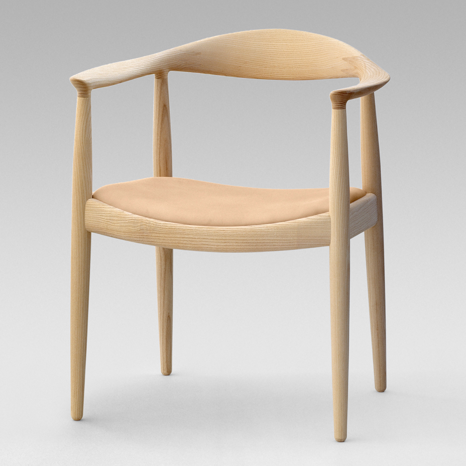 The Round Chair by Hans Wenger  (often copied)