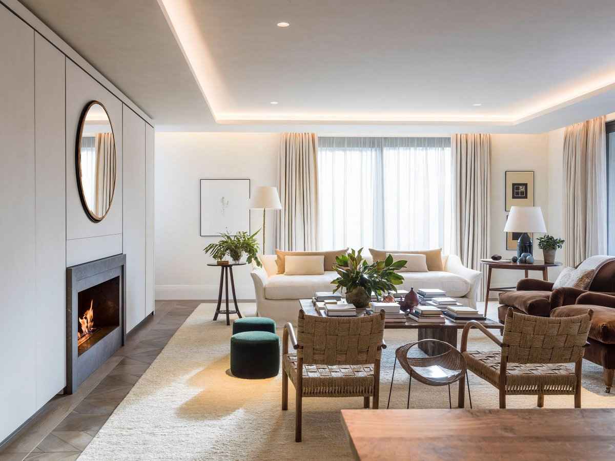 Holland Park Villas  apartment by  Hudson & Mercer