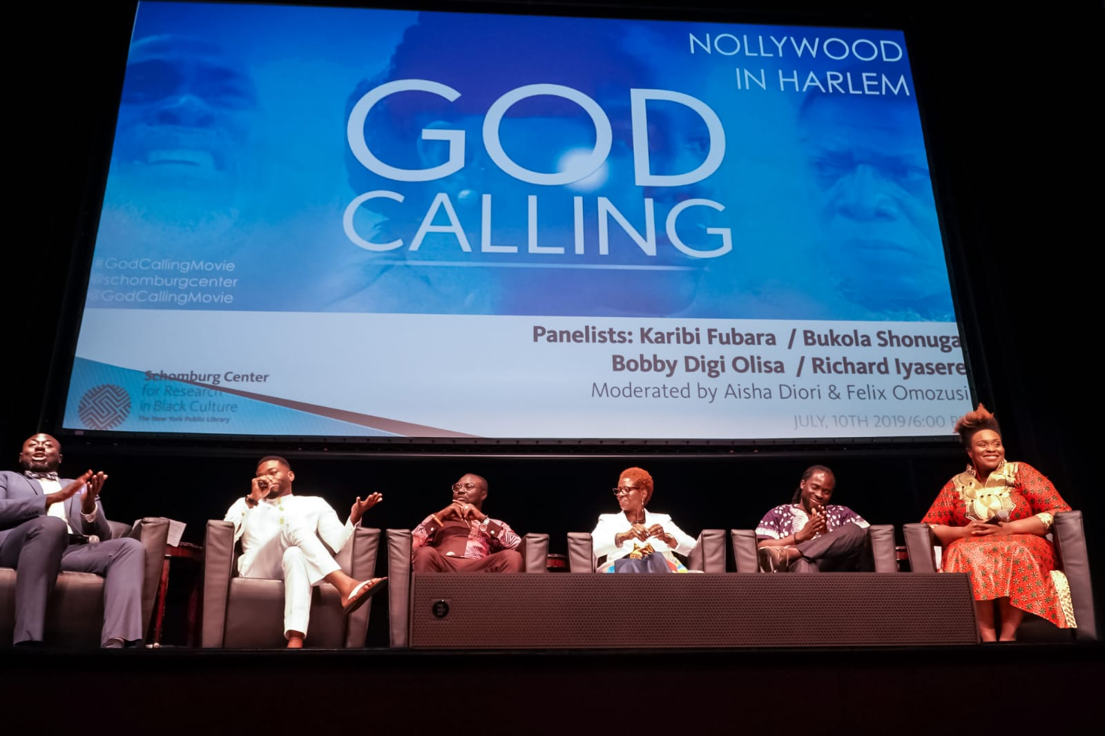 """GOD CALLING"" SCREENING & TALKBACK AT THE HISTORICAL SCHOMBURG IN HARLEM, NYC"