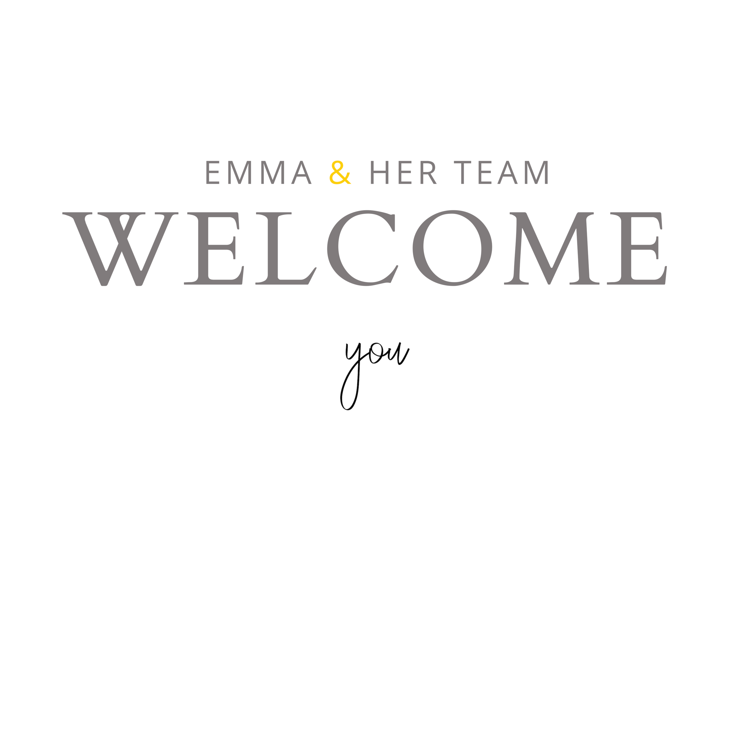 Emma & team welcome.png