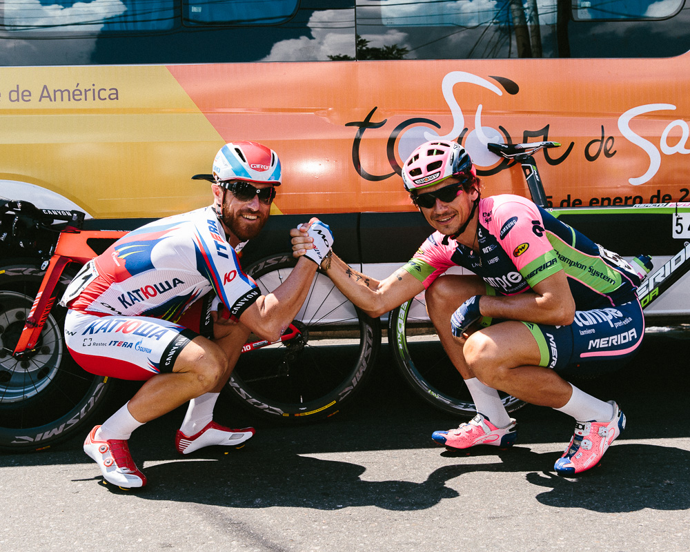 Luca Paolini and Pippo Pozzato. My two favorite cyclists of all time. Real cyclists.