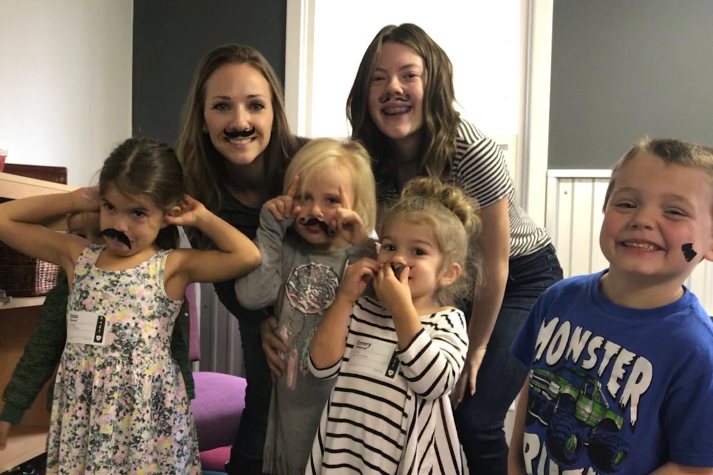 Children's classes - We provide a loving children's ministry for infants through elementary. Your kids will have a ton of fun while learning that Jesus cares about them, just as they are!