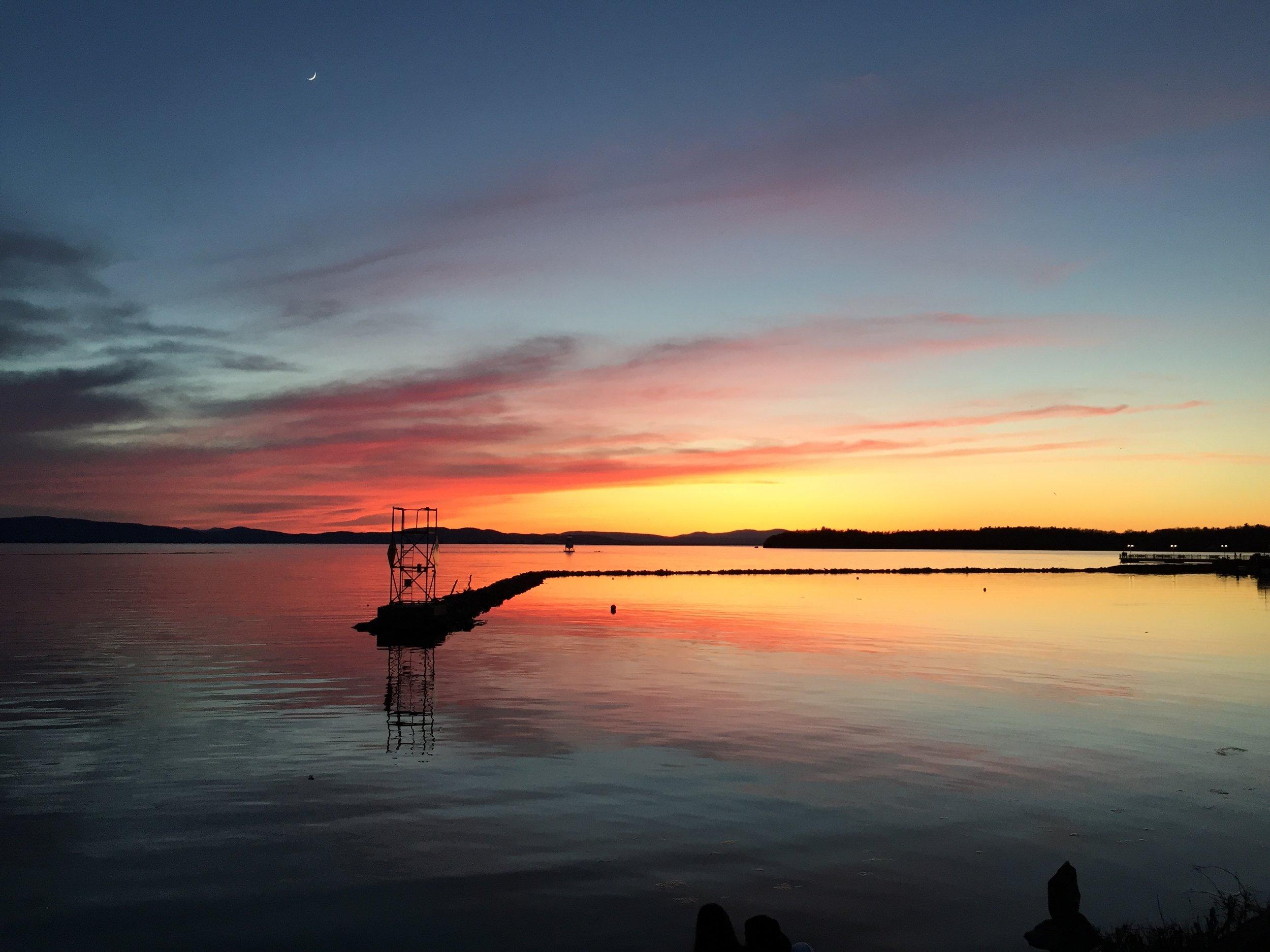 Photo: Lake Champlain, VT by Martha Dallas