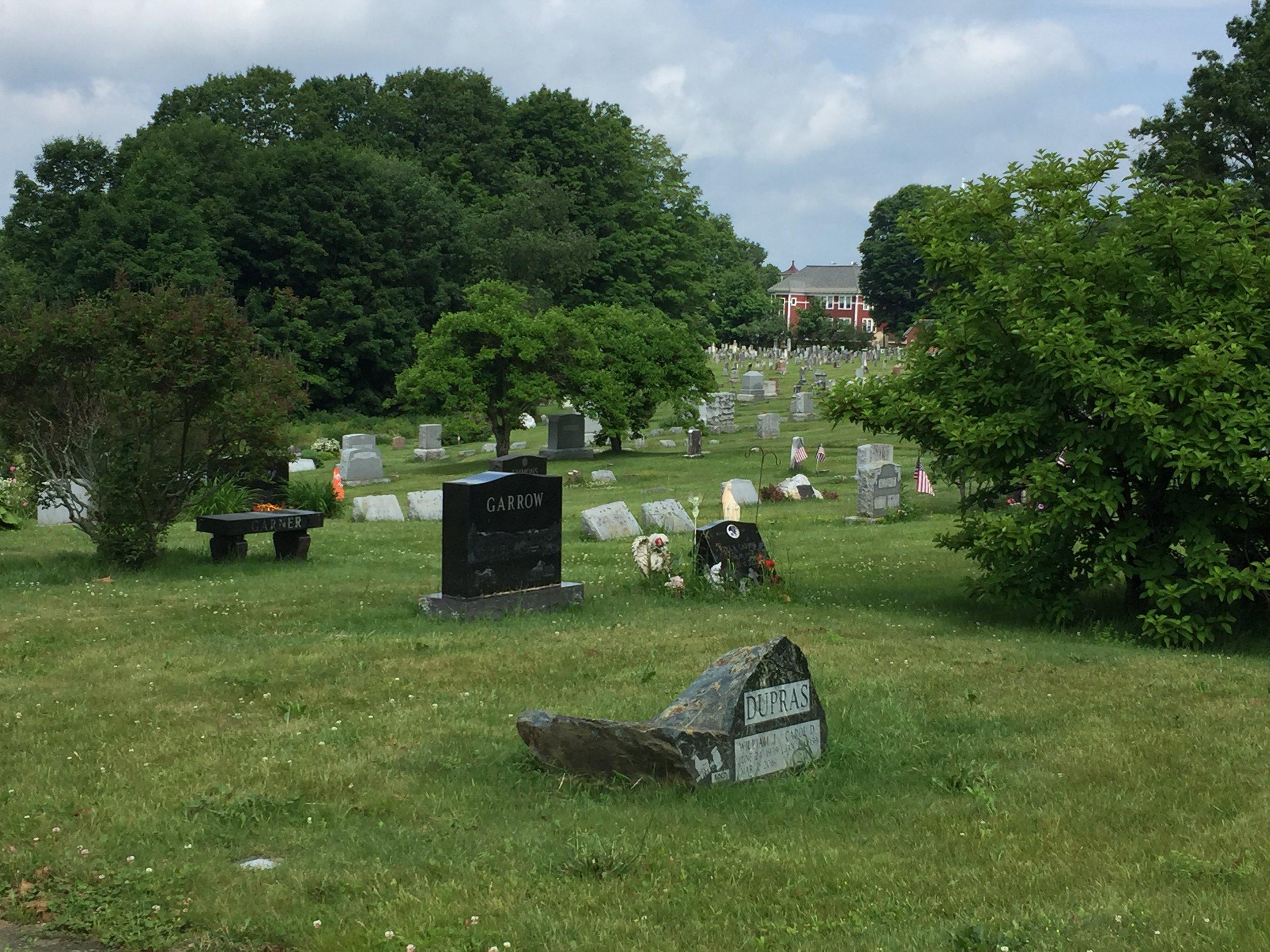 Randolph Center Cemetery (photo: Martha Dallas)