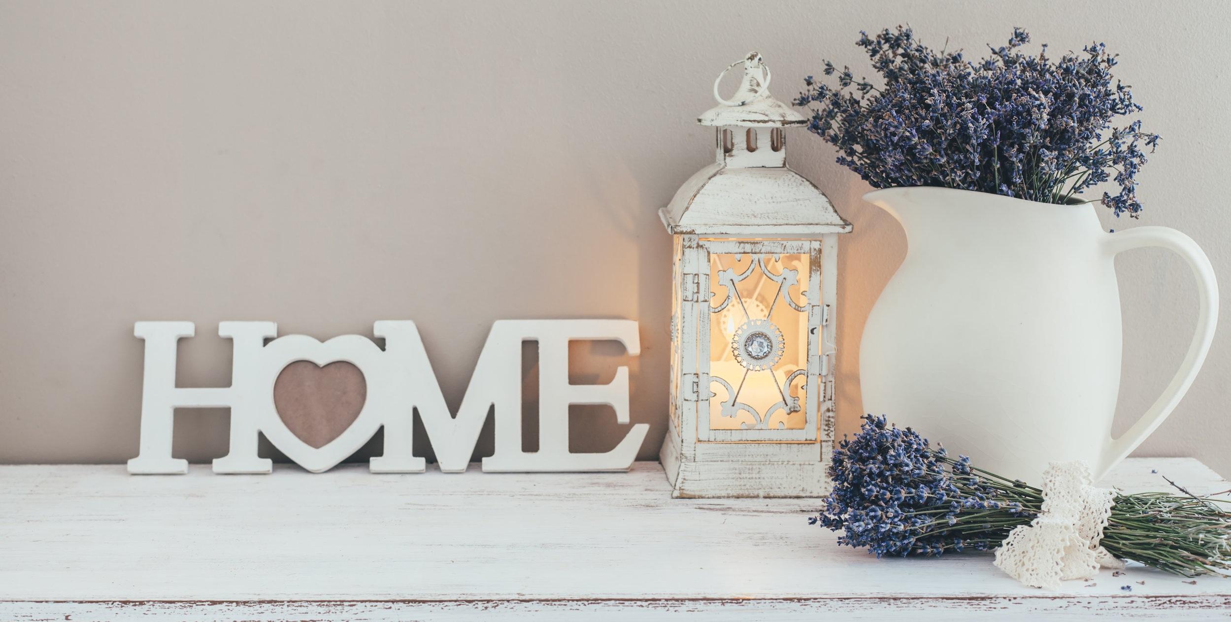 Shabby Chic Home Display