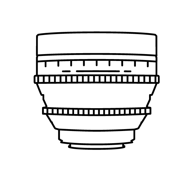 Wide Angle Lens  16mm FF, 10mm CF