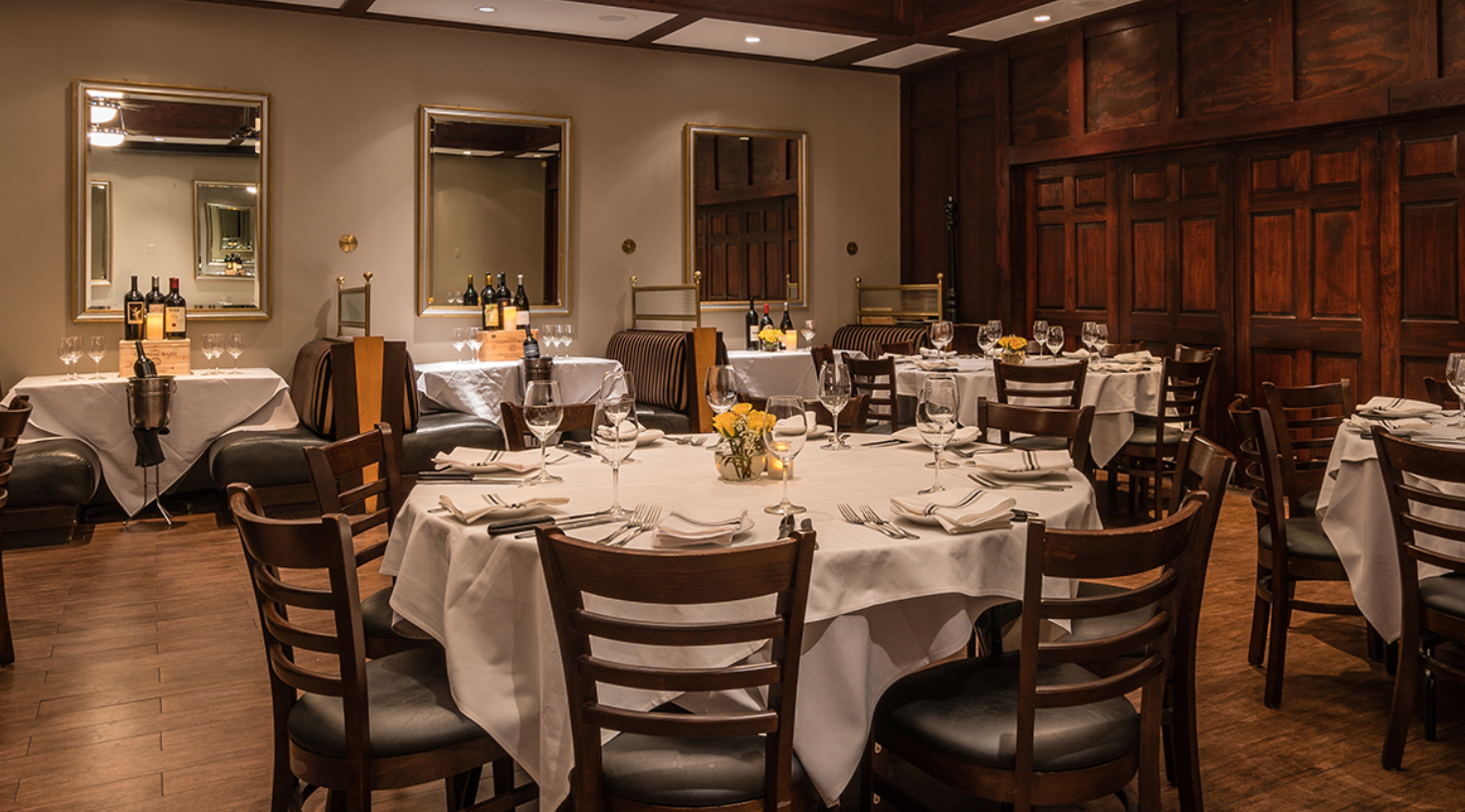 chamberlains best steakhouse corporate events dallas texas