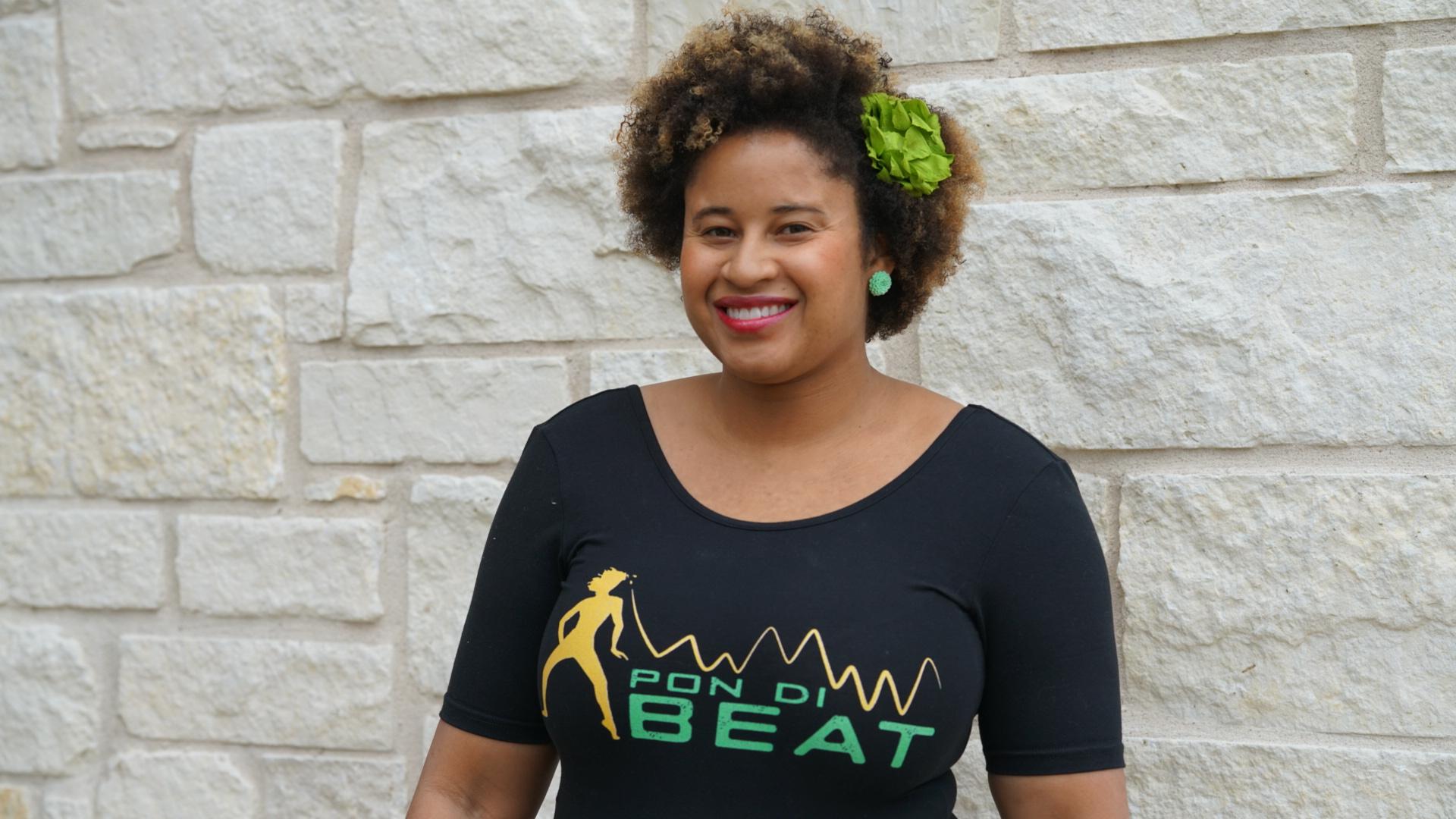 Mélissa Peng aka  Curly Executive , Pon Di Beat Founder.
