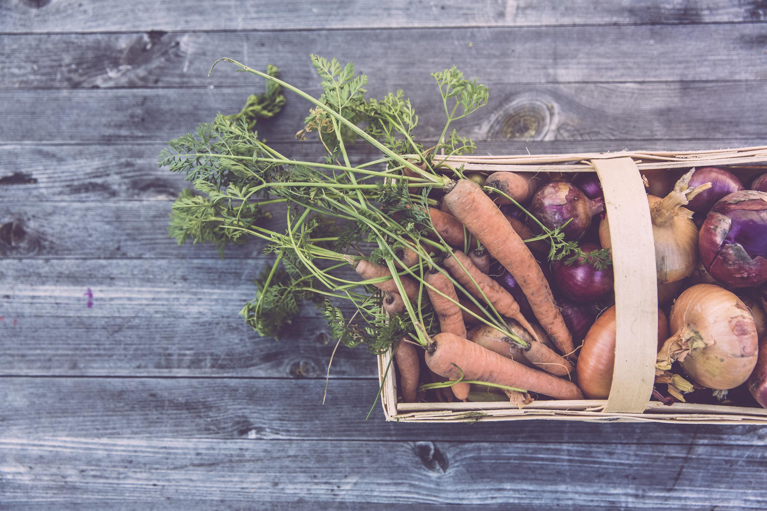 Le panier de légumes bio-Les jardins de chivrageons-(Inscrivez-vous en cliquant ici) -