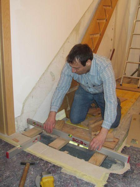 Stiegen-Montage-Tischlerei-Pichler
