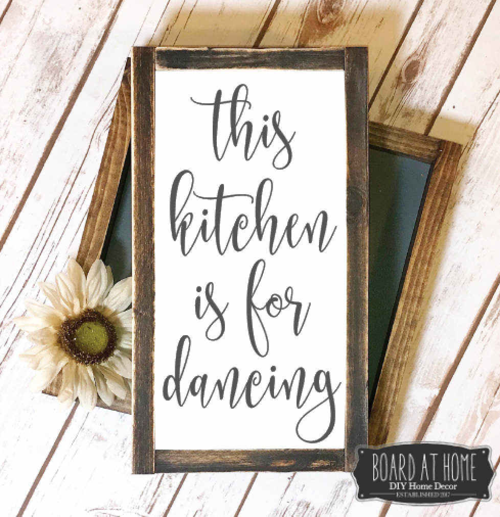 209- Kitchen is for Dancing