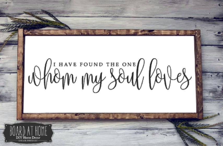 224- whom my soul loves