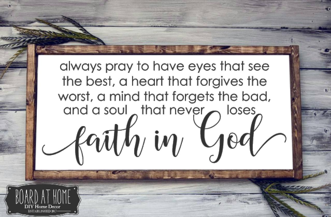 223- faith in God