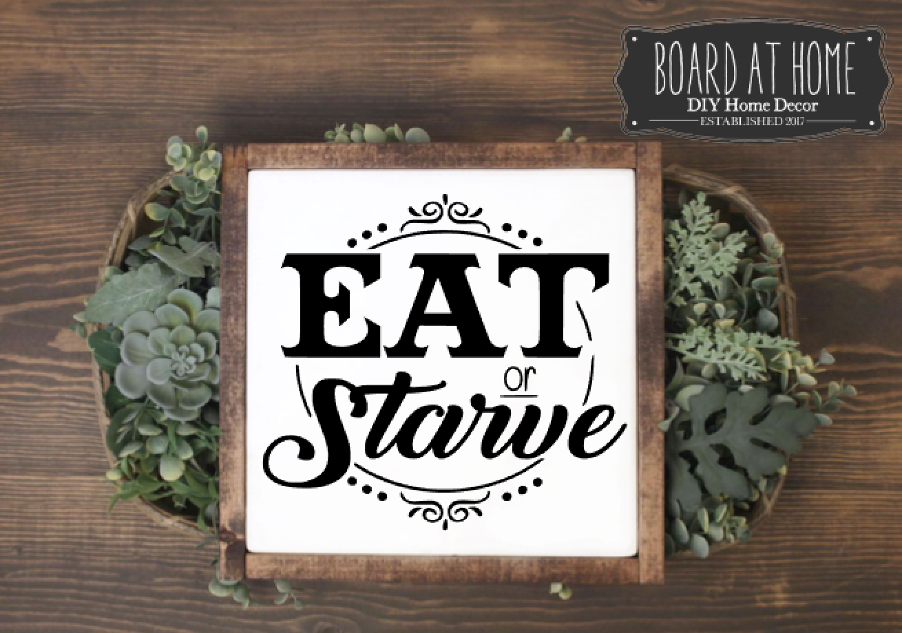 119- eat or starve