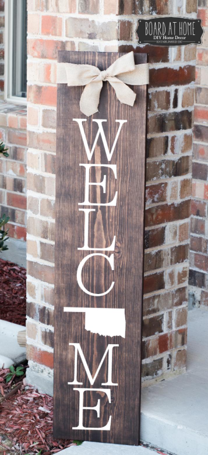 402- Oklahoma Welcome Sign