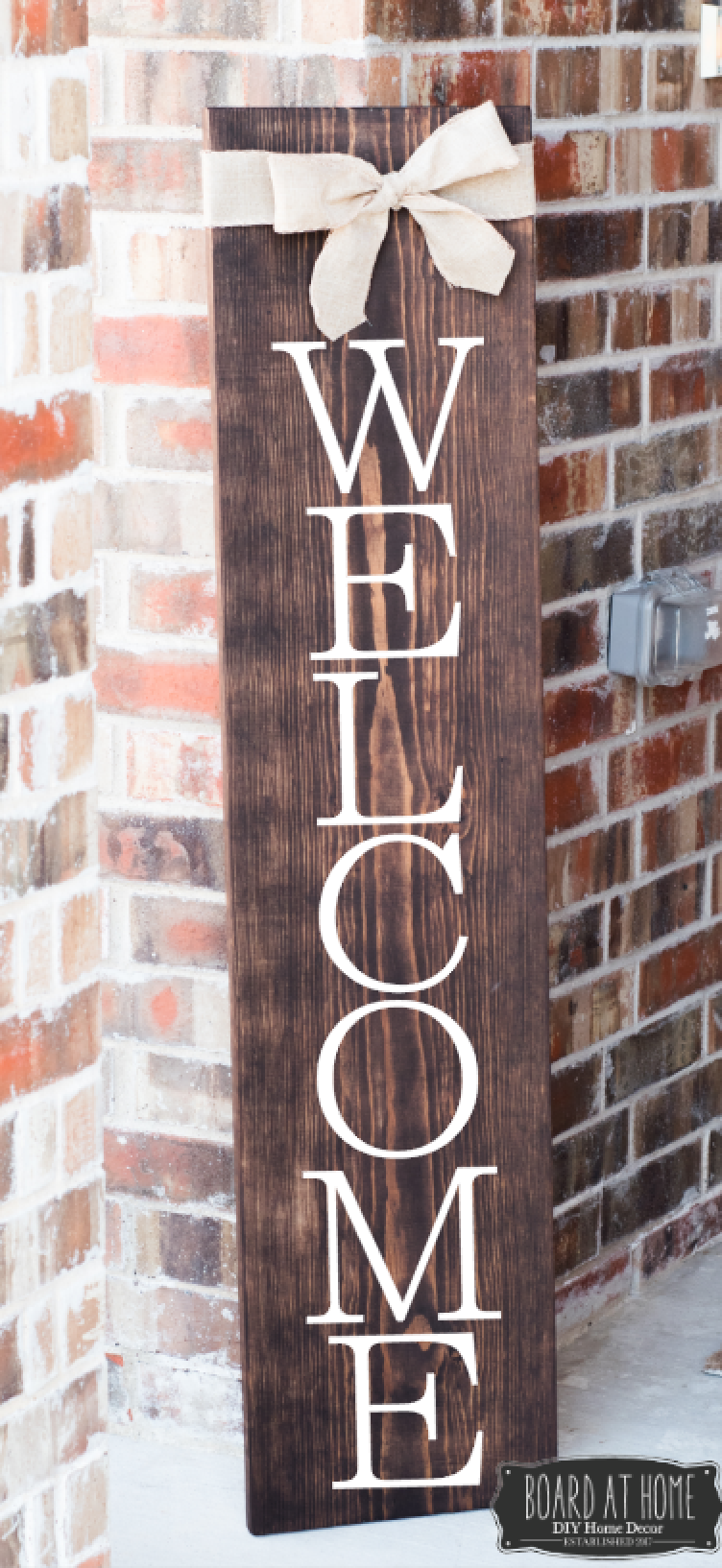 400- Welcome Porch Sign