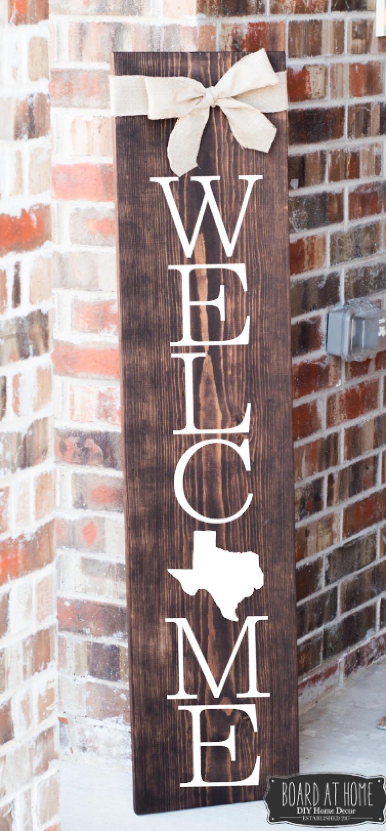 401- Welcome Sign/ Texas